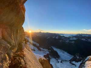 Французские альпинисты открывают новый маршрут
