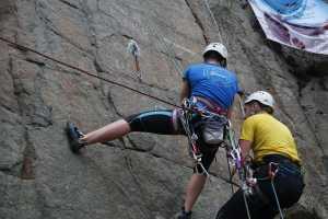 В Коростышевском карьере состоялся Чемпионат Киева по технике альпинизма