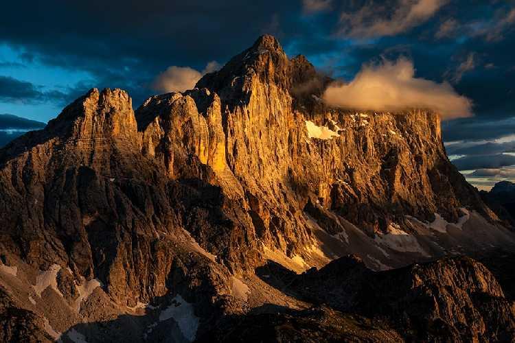 Монте-Чиветта на закате. Фото Nicolò Miana