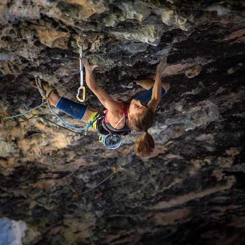 Лаура Рогора (Laura Rogora) на маршруте «Ali Hulk sit total extension» категории 9b