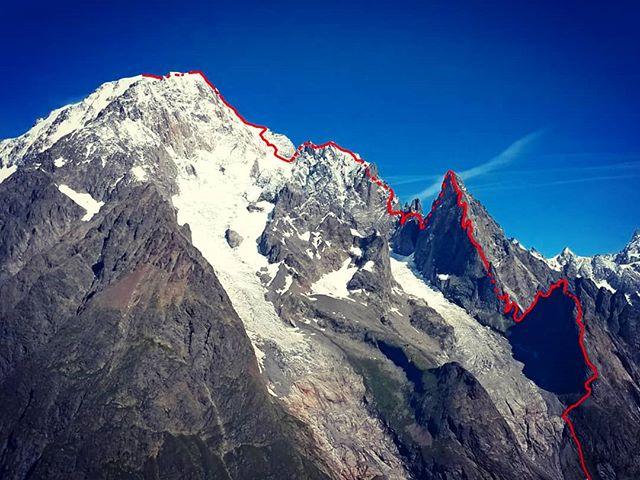 """Филип Бабич совершил первое за 47 лет повторение маршрута """"Integralissima de Peuterey"""" на вершину Монблана"""