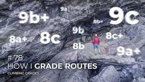 Адам Ондра о принципах назначения категорий скалолазным маршрутам