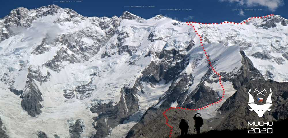 Планируемый маршрут восхождения на Мучу Чхиш (Muchu Chhish)