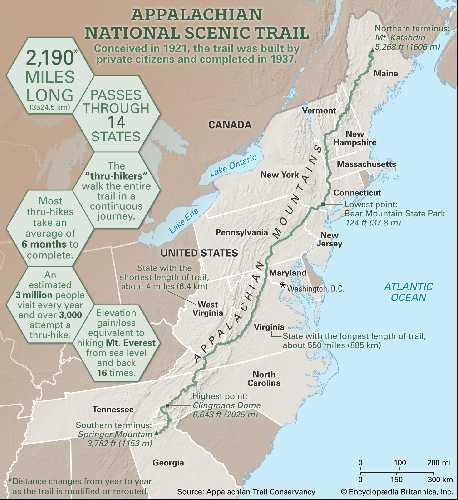 Аппалачская тропа (Appalachian Trail)