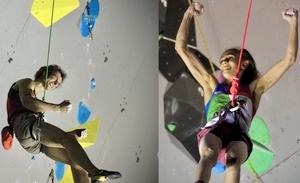Лаура Рогора и Адам Ондра - победители первого в 2020 году Кубка Мира по скалолазанию