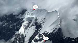 Чешская экспедиция на непройденный пик Мучу Чхиш (Muchu Chhish): траверс ко второму лагерю