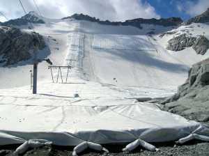 Укрытие снежных склонов не спасет ледник Мармолада от исчезновения