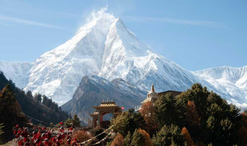 восьмитысячник Манаслу (Manaslu) высотой 8163 метров. Фото: Gaiusmarius181