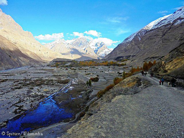 долина Шимшал в Пакистане