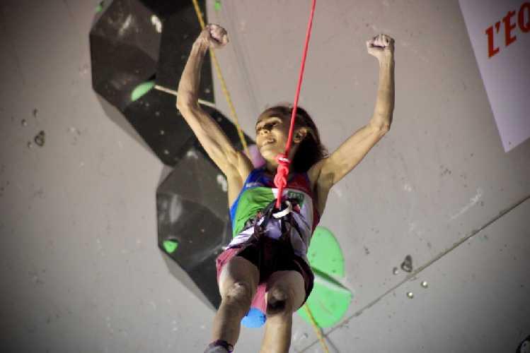 Лаура Рогора - победительница этапа Кубка Мира в Бриансоне 2020