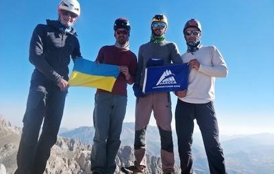 Одесские альпинисты совершили восхождение на гору Goban Kizi в Турции по сложнейшему маршруту категории 5Б-6А