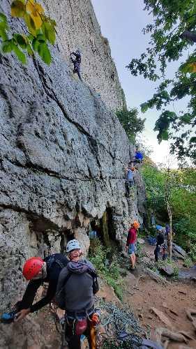 Чемпионат Украины по альпинизму (вид - техника альпинизма). Фото Геннадий Копейка