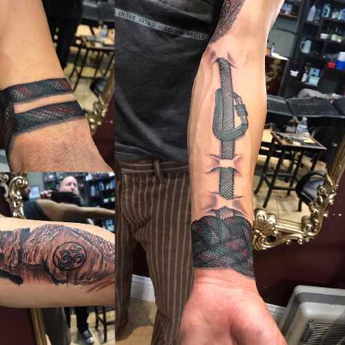 ТОП-10 скалолазных татуировок