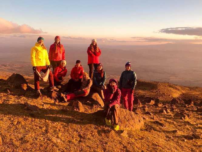Перша українська жіноча Експедиція готується здійснити сходження на найвищий вулкан світу - Охос дель Саладо (6893м).