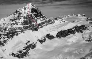 Канадские альпинисты открывают первый маршрут на ранее не пройденной восточной стене горы Форбс