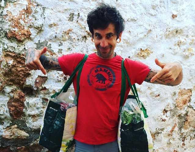 Луис Родригес (Luis Rodríguez), автор статьи, развенчивает мифы о питании в скалолазании. Фото Luis Rodríguez