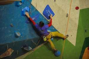 В Киеве завершился финальный этап Кубка Украины по скалолазанию в дисциплине трудность!