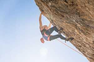 Джулия Шанорди становится третьей скалолазкой в мире, которая прошла маршрут сложности 9b!
