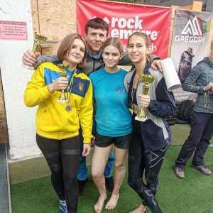 В Киеве завершился финальный этап Кубка Украины 2020 года по скалолазанию