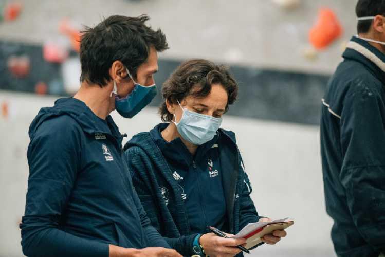 Ромен Дегранж теперь работает вместе с тренерами сборной Франции. Фото Aurèle Bremond