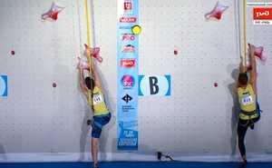 На соревнованиях в Москве 4 украинца вышли в финал Чемпионата Европы по скалолазанию