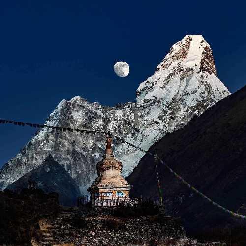 Украинец Александр Настенко поднялся на вершину Ама-Даблам в Непале!
