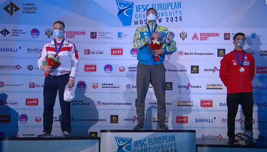 Даниил Болдырев - чемпион Европы 2020 по скалолазанию в дисциплине скорость