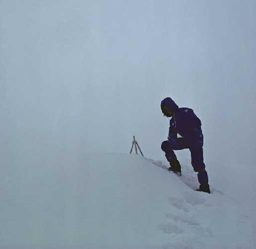 Соловосхождение на Эверест, 1980. Фото: Reinhold Messner