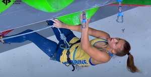 Ника Потапова заняла седьмое место в финале Чемпионата Европы по скалолазанию 2020