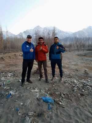 Пакистанско-Исландская зимняя экспедиция на К2: команда в сборе