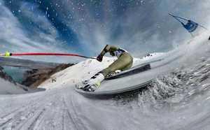 Американський гірськолижник випадково зробив запаморочливе фото через поламану камеру