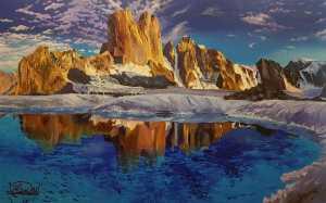 Картины украинского художника будут представлены в горном музее Райнхольда Месснера