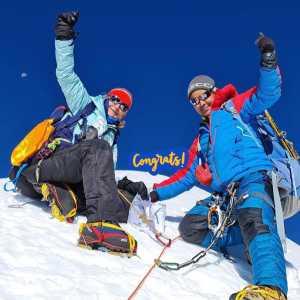 Швейцарско-непальская команда открывает новую горную вершину Непала - Куюнжа-Ри II (Kyungya Ri II ) высотой 6506 метров