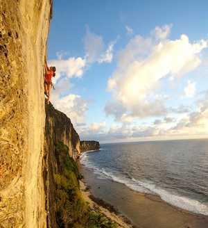 Макатеа: райское скалолазание на острове Французской Полинезии
