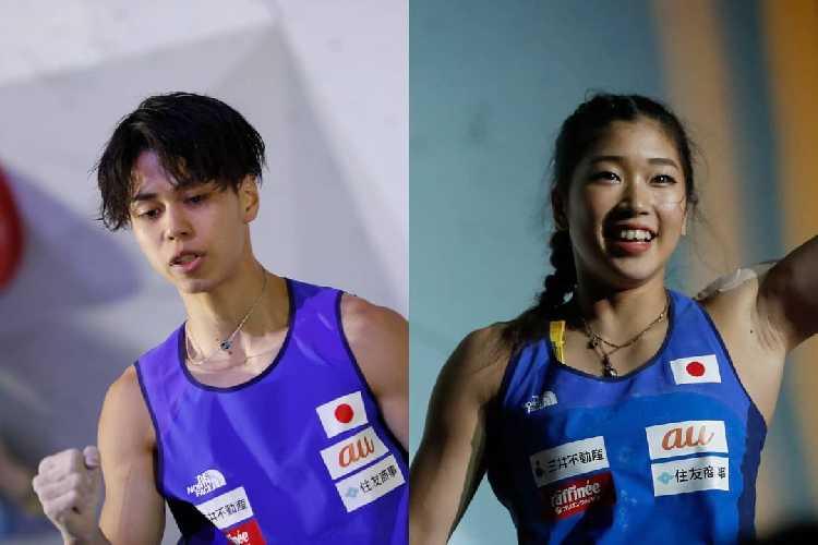 Михо Нонака (Miho Nonaka) и Кай Харада (Kai Harada)