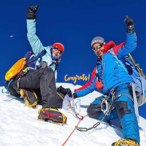 Швейцарско-непальская команда совершила первое в истории восхождение на ранее никем не покоренный пик  Куюнжа-Ри II (Kyungya Ri II) высотой 6506 метров