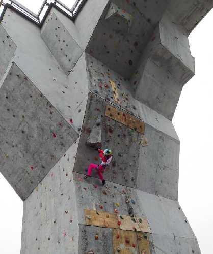 Чемпионат Украины по альпинизму в виде драйтулинг