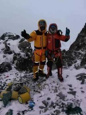 Пакистанско-Исландская команда на К2: проложен маршрут до первого высотного лагеря