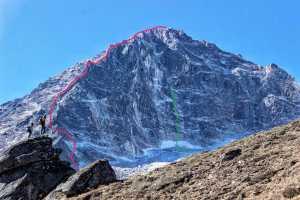Трое непальских шерп открывают новую горную вершину: Луза (Luza) высотой 5726 метров