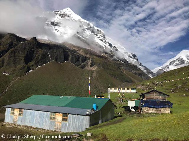 Родная деревня Лакпы у подножия восьмитысячника Макалу в Непале