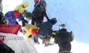12 туристов погибли в Иране из-за схода лавины