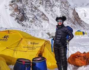 Команда  Магдалены Гошковской пришла в базовый лагерь восьмитысячника К2