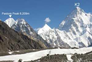 Зимняя экспедиция на Броуд-Пик: команда планирует, в качестве акклиматизации, первое в истории зимнее восхождение на пик Pastore Peak (6209 метров)