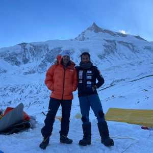 Зимняя экспедиция на восьмитысячник Манаслу: команда Алекса Тикона и Симоне Моро прибыла в базовый лагерь