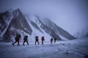 Команда Нирмала Пурджи вышла на 7600 метров на восьмитысячнике К2!