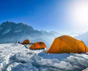 Зимняя экспедиция на восьмитысячник Манаслу: команда Алекса Тикона и Симоне Моро начинает восхождение