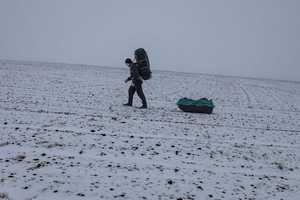 Розпочався проект Віталія Піддубняка: перше в історії зимове соло-проходження Закарпатського туристичного шляху