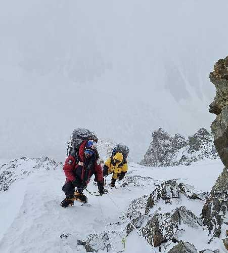 На пути во второй высотный лагерь. Фото Нирмала Пурджи (Nirmal Purja)