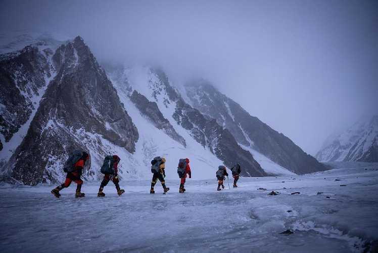 Зимняя экспедиция на К2. Фото Nirmal Purja