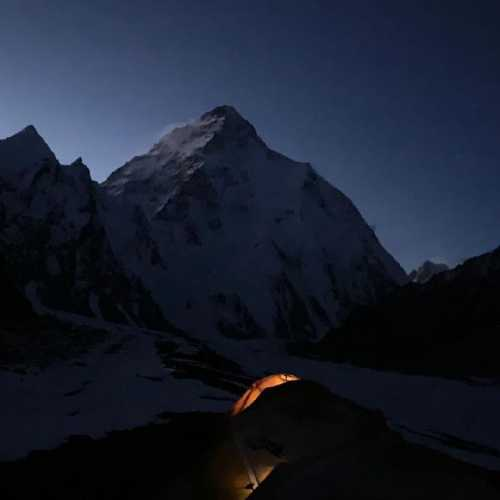 восьмитысячник К2 (K2 / Chogori, 8611м). Фото Chhang Dawa Sherpa